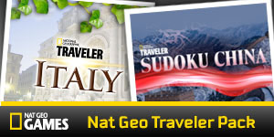 Nat Geo Traveler Pack