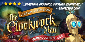 The Clockwork Man - The Hidden World Platinum Edition