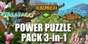 Power Puzzle Pack - 3 in 1