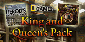 Nat Geo Games King and Queen's Pack