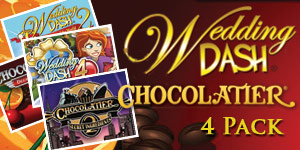 Wedding Dash® Chocolatier® Four Pack