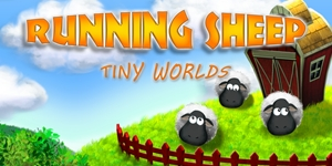 Running Sheep - Tiny Worlds