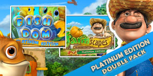 Fishdom™ 2 Farmscapes™ Premium Edition Double Pack