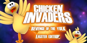 Chicken Invaders 3 Easter Edition