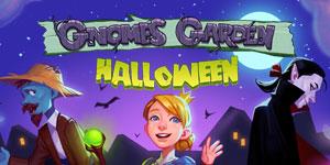 gnomes garden halloween