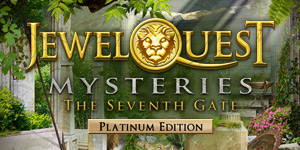 Jewel Quest Mysteries - The Seventh Gate Platinum Edition