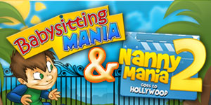Babysitting Mania and Nanny Mania 2 Combo Pack