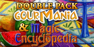 Double Pack Gourmania and Magic Encyclopedia