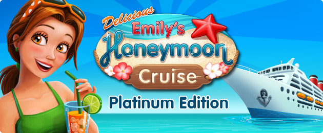 Emily and Patrick set sail for their long-awaited honeymoon in the all-new Delicious - Emily's Honeymoon Cruise Platinum Edition.