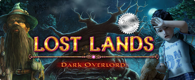 Lost Lands - Dark Overlord is an eerie hidden object search for a lost son. Follow Susan as she desperately tries to find her missing son in a magical world.