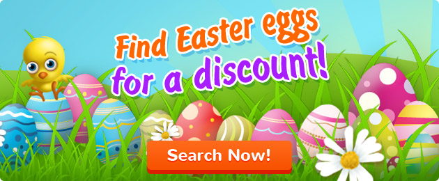 Find Easter eggs for a discount!