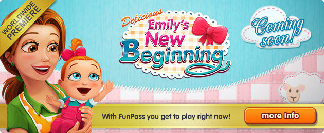 Coming soon: Delicious - Emily's New Beginning