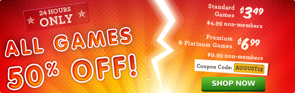 50% off All Games at GameHouse AFS_pushdown_billboard_950x300.jpg?1.41