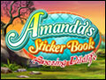 Amanda's Sticker Book - Amazing Wildlife Deluxe