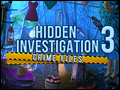 Hidden Investigation 3 - Crime Files Deluxe