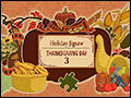 Holiday Jigsaw Thanksgiving Day 3 Deluxe