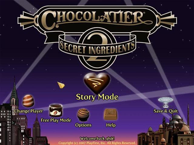chocolatier 2 game free full