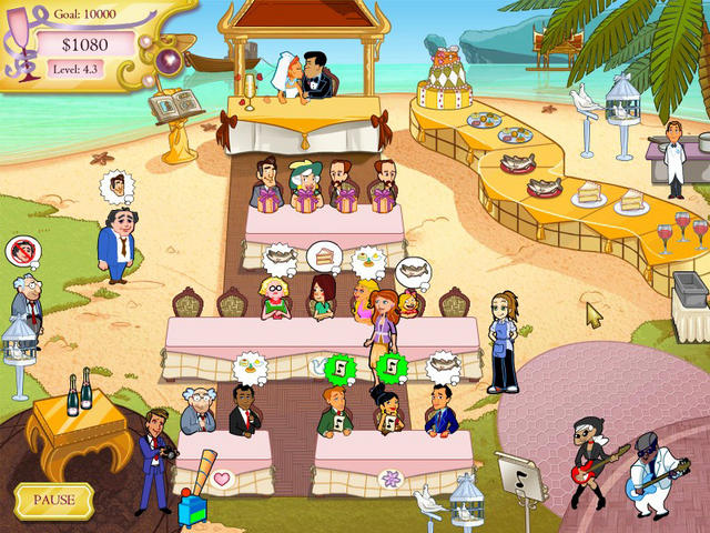 wedding dash full game