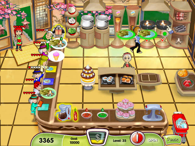 games online free play cooking dash