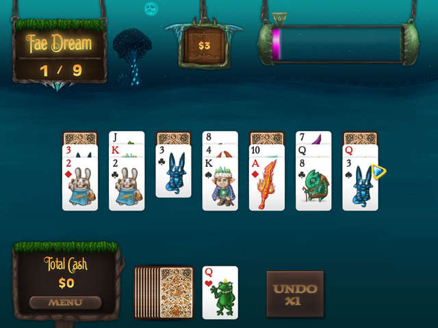 Play Faerie Solitaire