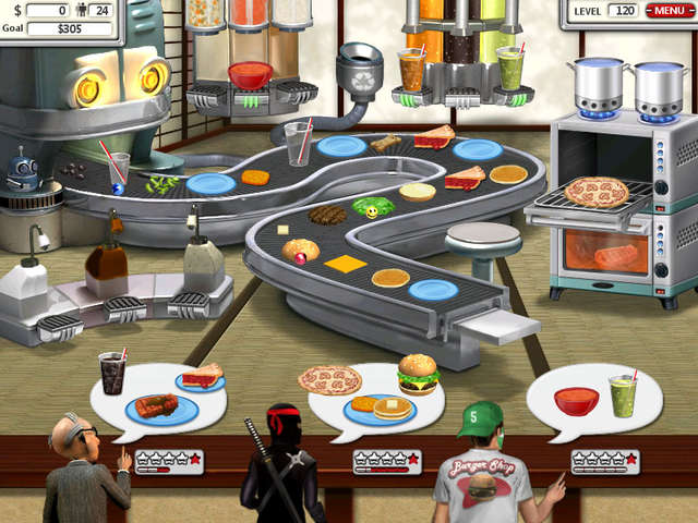 Play Burger Shop 2