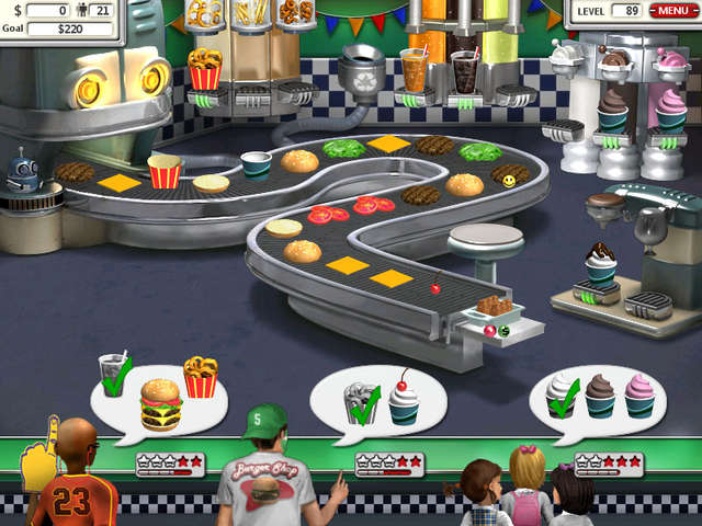 burger shop 3 play online