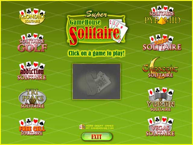 Play Super GameHouse Solitaire