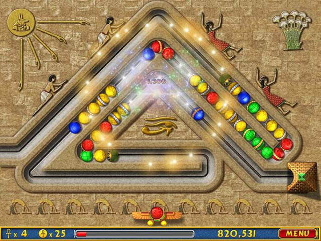 play game luxor 3