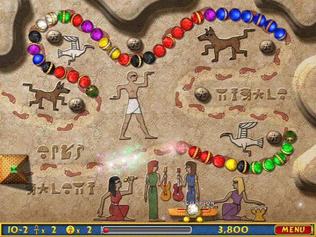 اللعبة المحبوبة والشهيرة Luxor Amun Rising,بوابة 2013 2.jpg