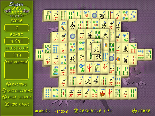 Play Super Mahjong