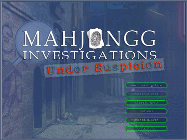 Play Mahjongg Investigations - Under Suspicion