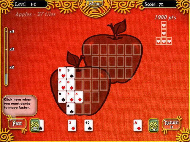 Play Puzzle Solitaire