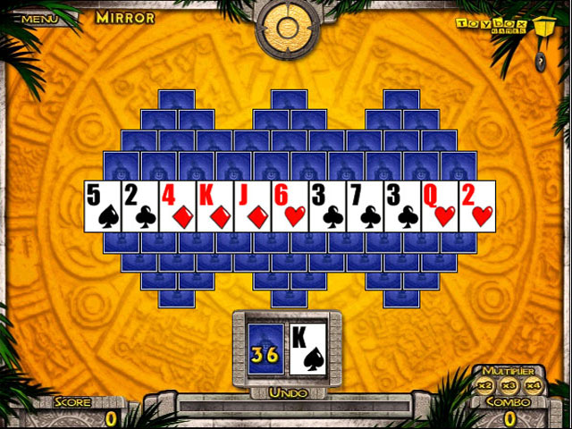 tripeaks aloha gamehouse online puzzle