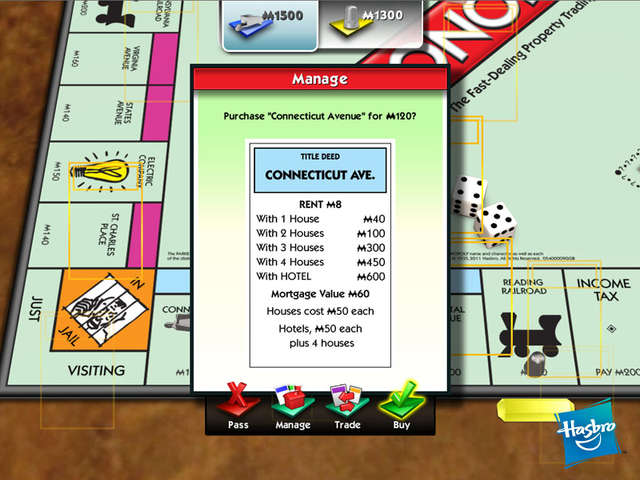 computer monopoly game free