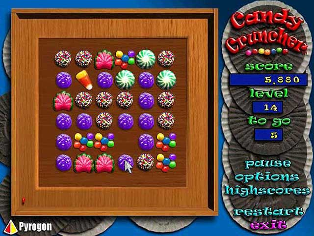free online games candy cruncher