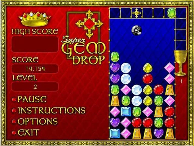 play super gem drop