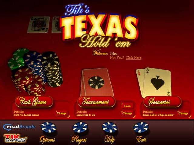 free texas holdem card games online