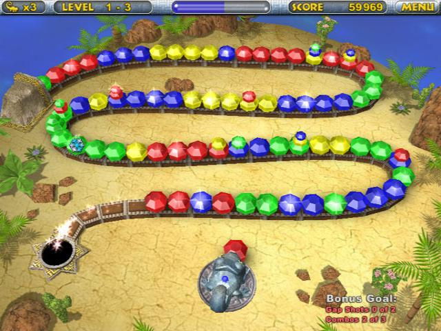Play Chameleon Gems