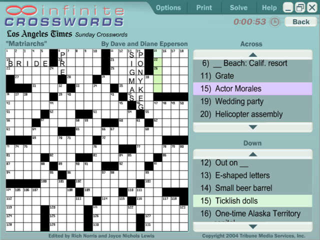 USA Today - Infinite Crosswords screenshot 2