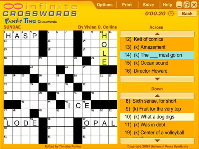 USA Today - Infinite Crosswords screenshot 4
