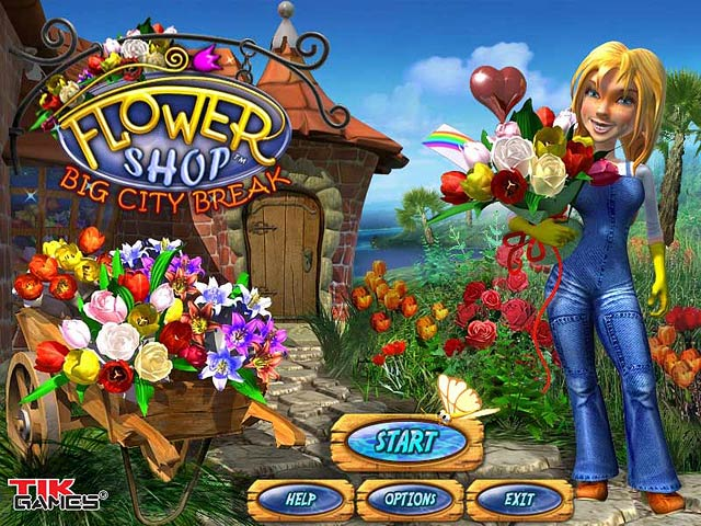game flower shop