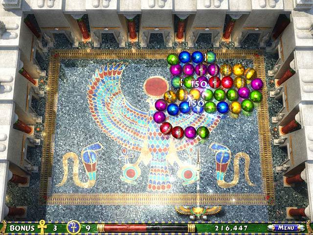 تحميل لعبة الأقصر الجزء الثاني Luxor أروع اللعب الصغيرة المسلية,بوابة 2013 1.jpg