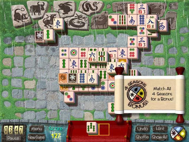 garden mahjong game