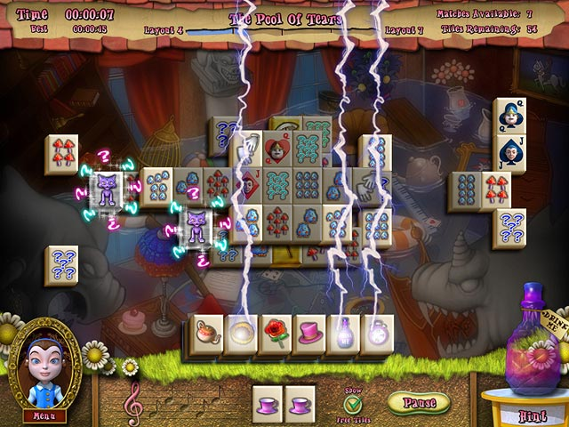 Play Alice's Magical Mahjong