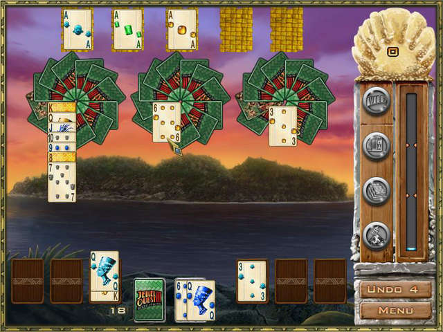 Play Jewel Quest Solitaire III