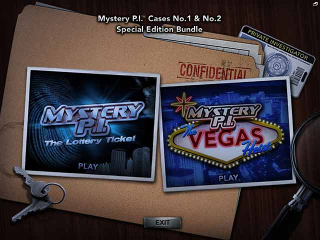 Play Mystery P.I. Special Edition Bundle