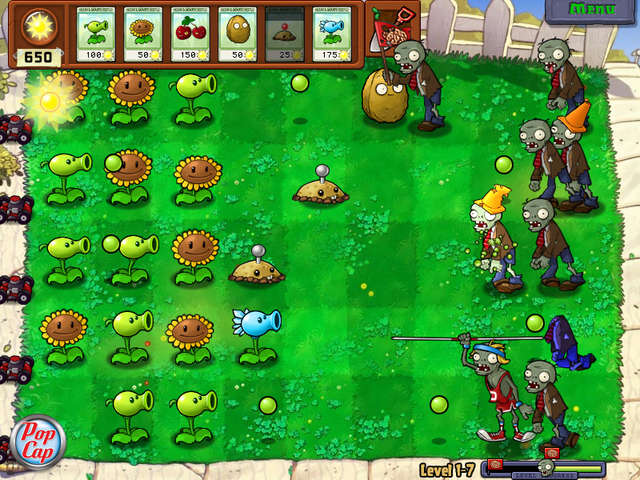 free online plants vs zombies games for kids