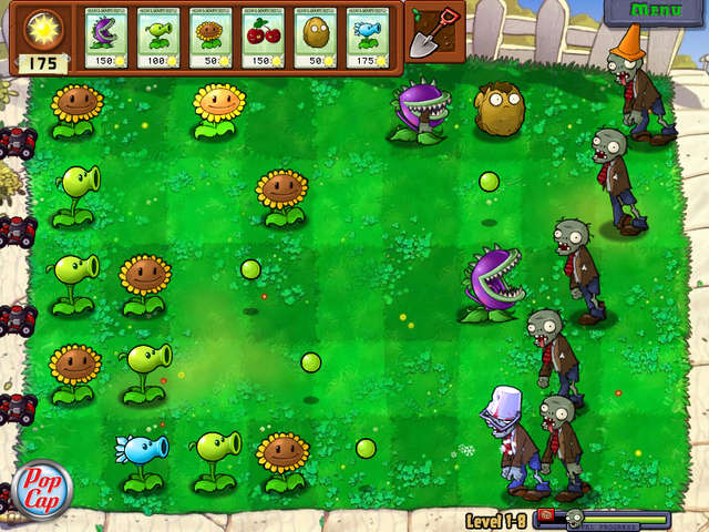 play plant vs zombies game