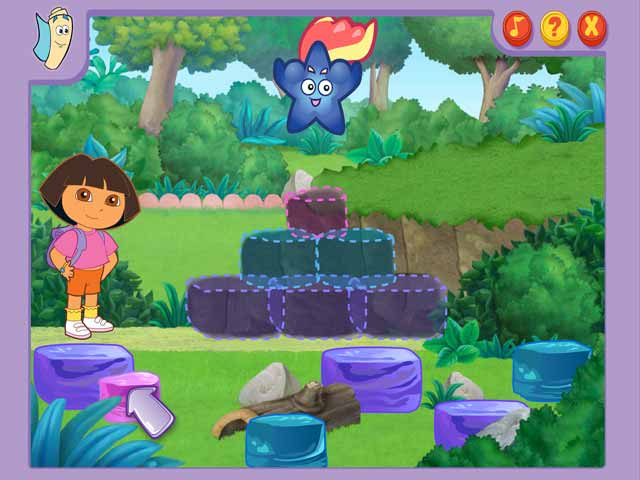Play Dora's Lost and Found Adventure