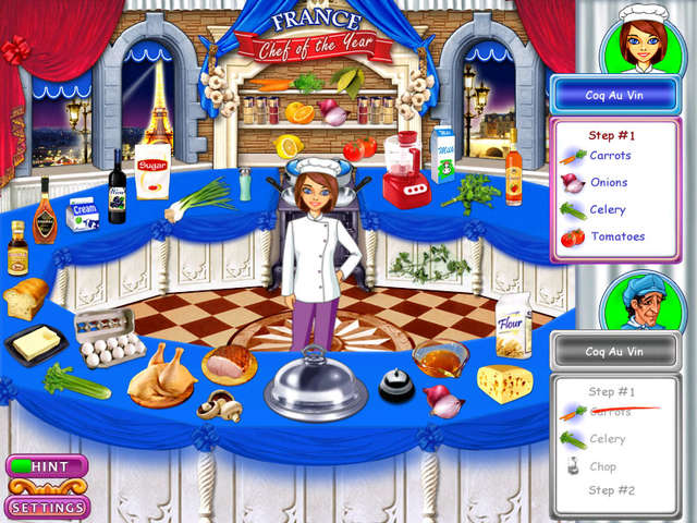 Play Go Go Gourmet - Chef of the Year